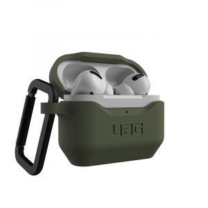 UAG Silicone case, olive - AirPods Pro
