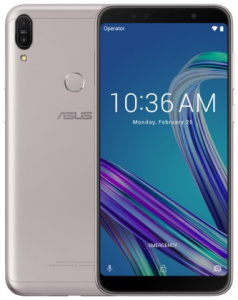 """ASUS Zenfone MAX Pro (ZB602KL-4H084EU) Silver - 6,0"""", 8x 1,8GHz, 64GB/4GB, Android 8.1"""