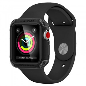 Spigen Tough Armor 2,black - A. Watch 3/2/1 42mm