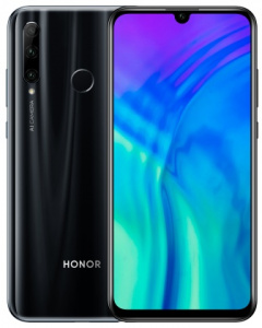 Honor 20 Lite LTE DS 128GB/ 4GB Midnight Black (dualSIM)
