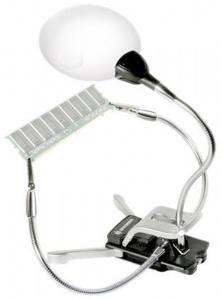 Bresser Junior 2x/4x 88/20mm Magnifier, with clamp