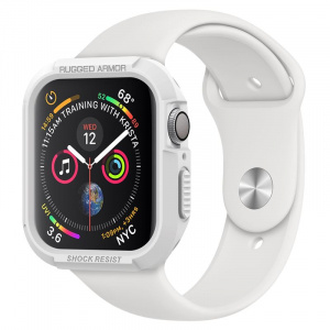 Spigen Rugged Armor, white - Apple Watch 4 40mm