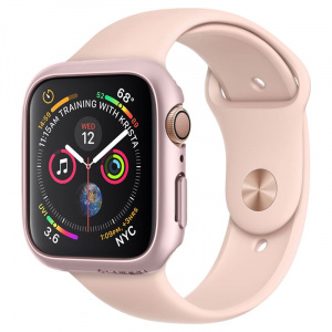 Spigen Thin Fit, rose gold - Apple Watch 4 40mm