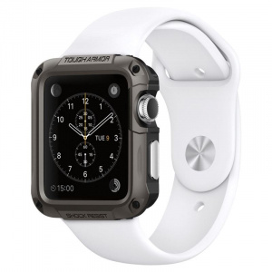 Spigen Tough Armor,gunmetal - A.Watch 3/2/1 42mm
