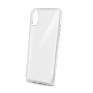 TPU pouzdro CELLY Gelskin pro Apple iPhone X/XS, bezbarvé