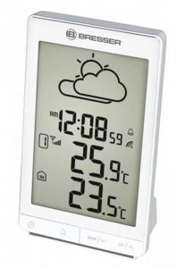 Bresser TemeoTrend STX RC Weather Station-white