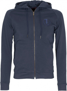 Pánská mikina Full Zip Fleece With Hood Pure Cotton Regular Fit