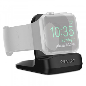 Spigen S350 Night Stand, black - Apple Watch