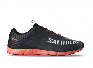 Salming Speed 8 Shoe Men Grey/Orange, 10,5 UK - 46 EUR - 29,5 cm