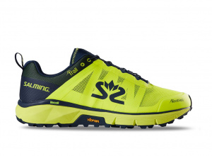 Salming Trail 6 Men Safety Yellow/Navy, 9 UK - 44 EUR - 28 cm